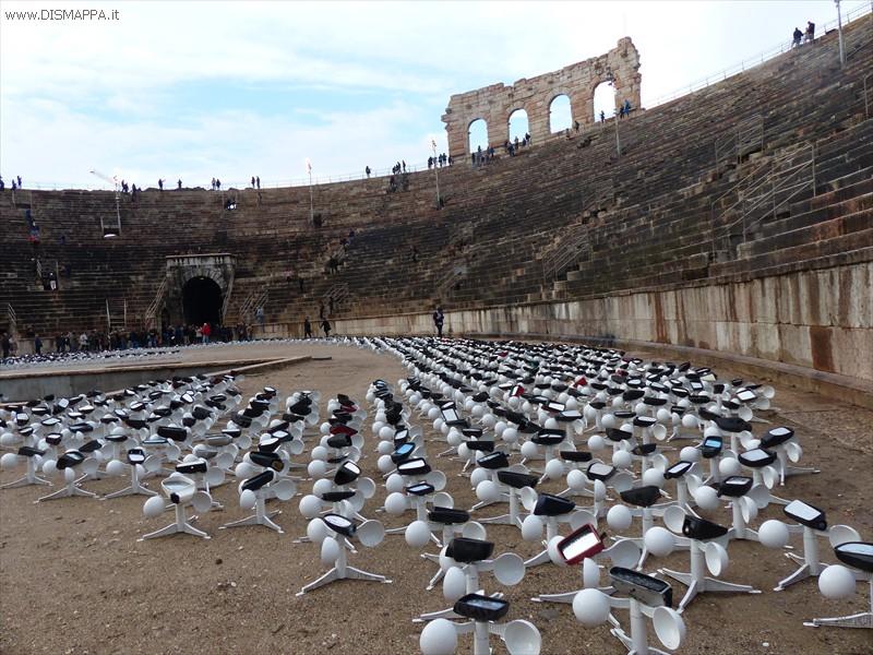 Arena di Verona:FIRMA DELLA LUCE di Luzius Ziermann