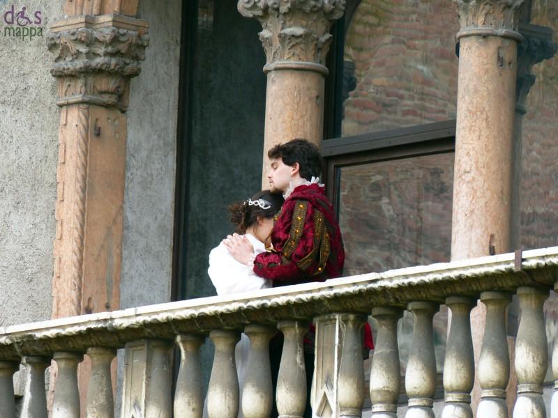 Giulietta e Romeo al balcone