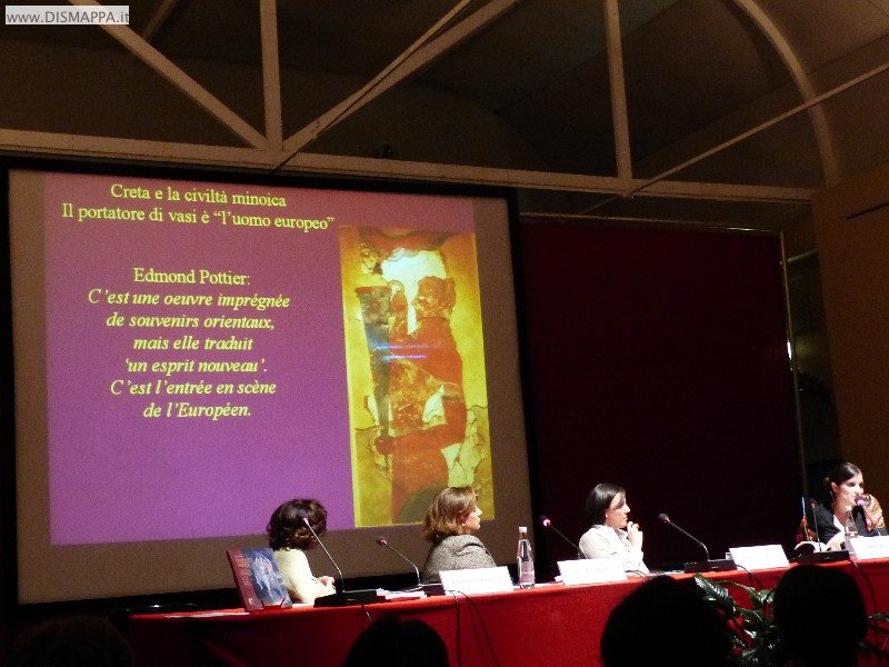 Presentazione in Sala Boggian al Museo di Castelvecchio  del volume di  Ilaria Caloi Modernità Minoica. L'arte egea e l'Art Noveau: il caso di Mariano Fortuny y Madrazo