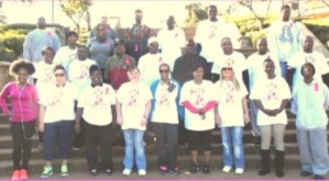 29 Dismas Charities Macon Representatives Participate In Breast Cancer Walk In Honor Of Dismas' Gladys Scott