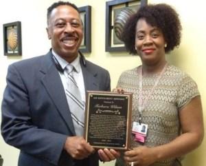 Dismas Charities Hattiesburg Director Recognized SSC Wilson