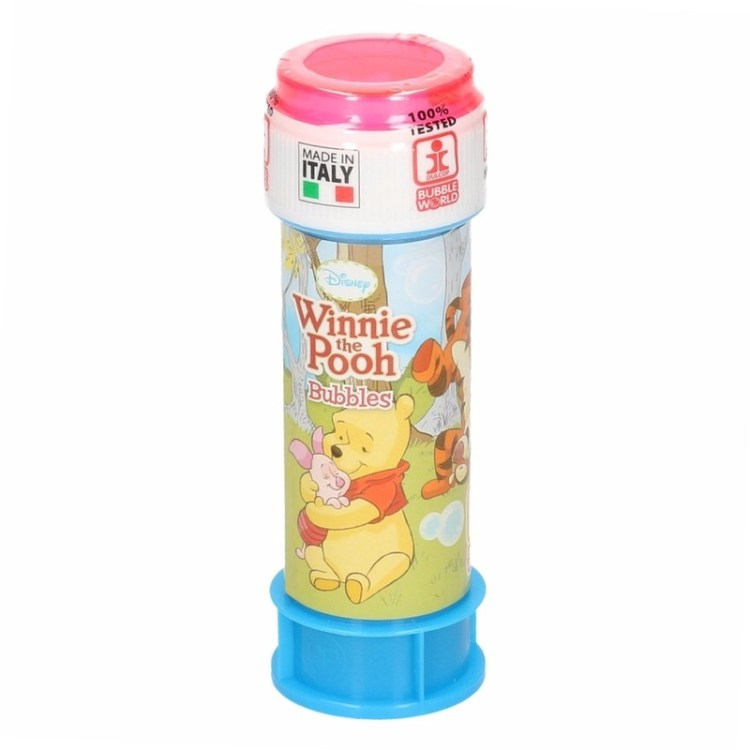 1x Bellenblaas Winnie de Poeh 60 ml speelgoed voor kinderen