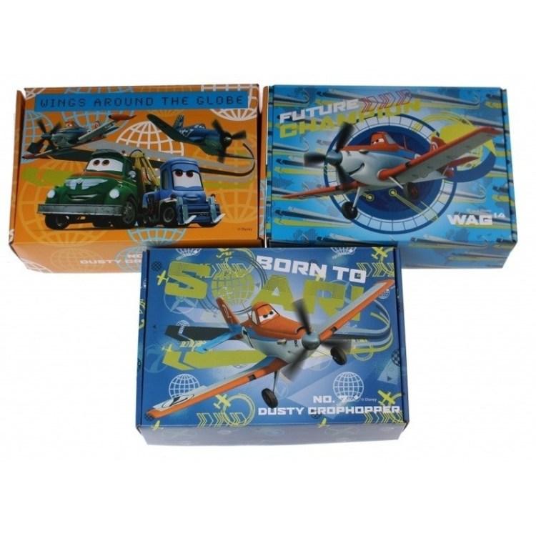3x Disney Planes opbergboxen/opbergdozen van karton