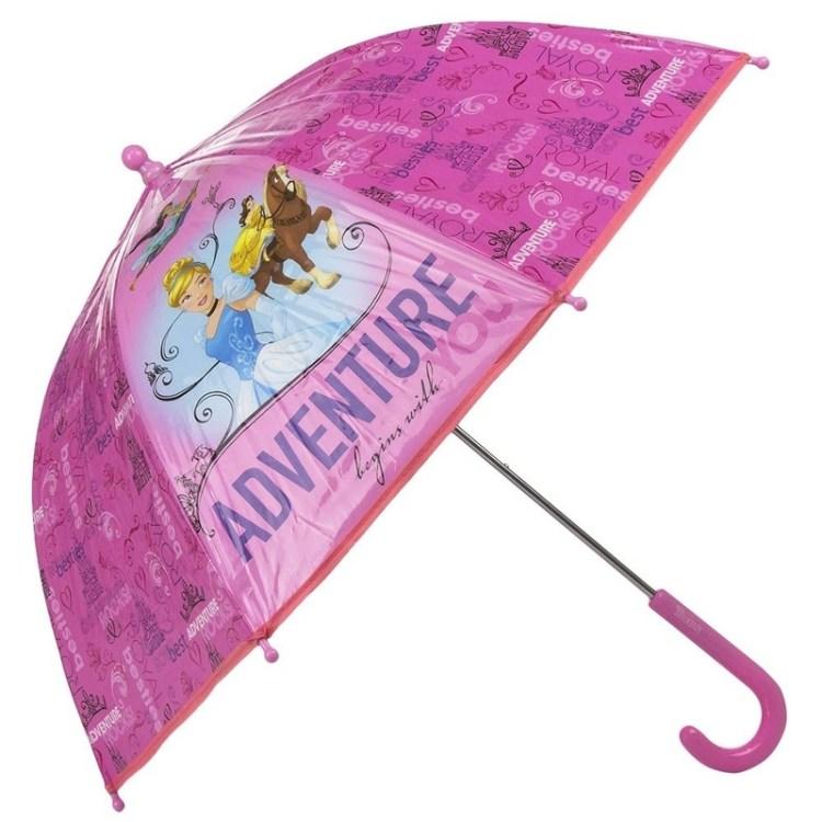 Disney kinderparaplu Princess roze 45 cm
