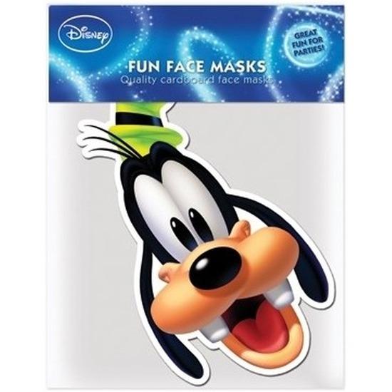 Kartonnen maskertje Goofy