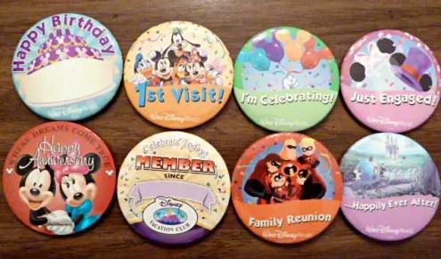 celebration buttons