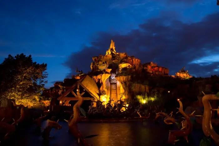 Evening fireworks magic kingdom