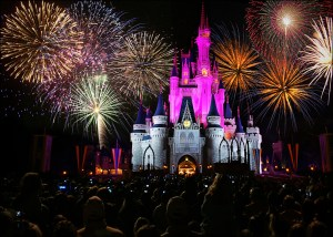 Disney Tip - find the best places for Disney fireworks and other shows