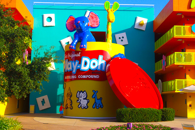 pop century - best disney world resort for adults