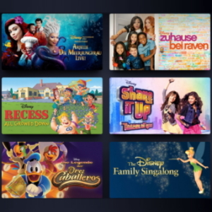 Disney+ Watchlist
