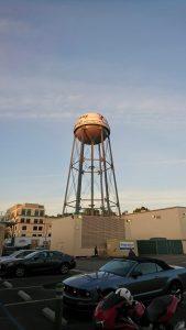 Wasserturm der Walt Disney Studios in Burbank, Kalifornien