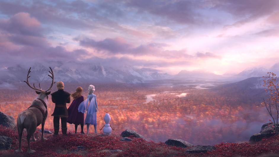 Landscape in Frozen II