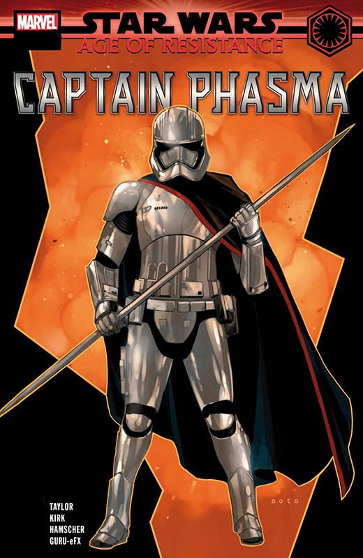 Star Wars 61 Age of Resistance Captain Phasma Finn Kiosk Ausgabe cover
