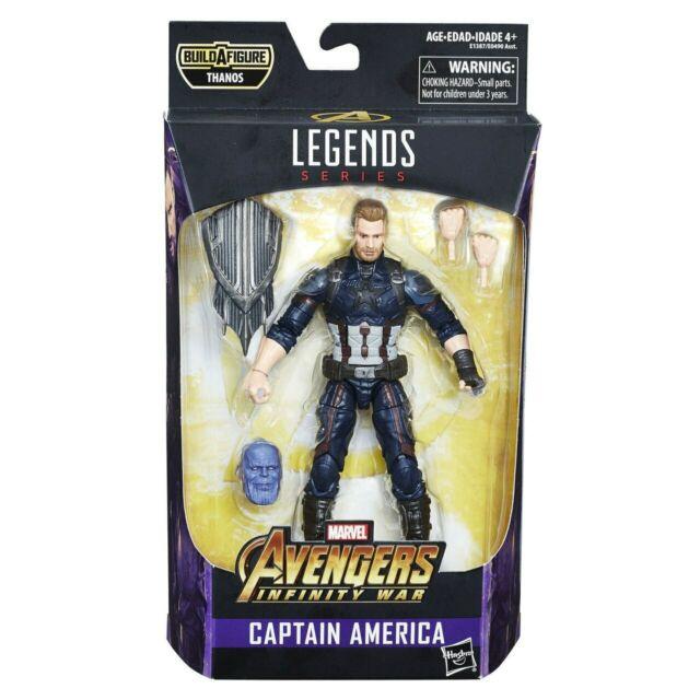 Marvel Legends Captain America (Avengers Endgame) with Thanos head