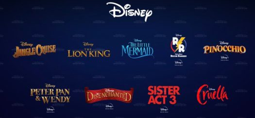 Walt Disney Studios Projekte ab 2021