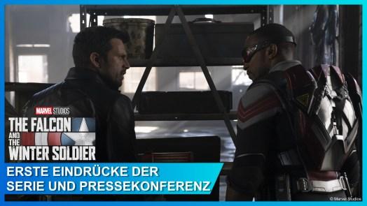 Pressekonferenz zu Falcon and the Winter Soldier