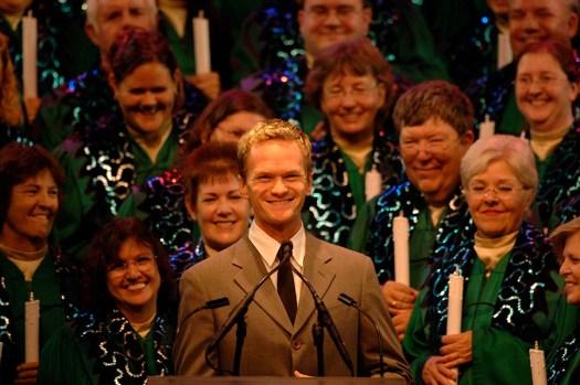 Neil Patrick Harris in Epcot