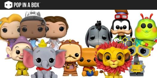 Disney Pop in a Box Funko Pop!