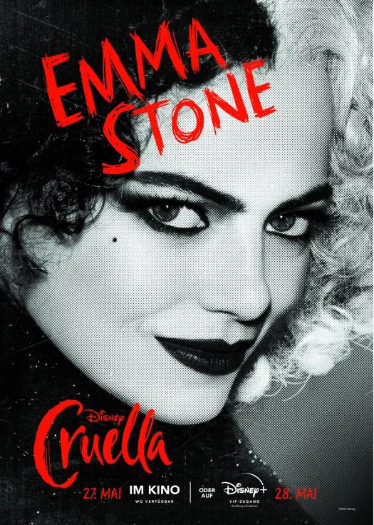 Cruella Character Poster Cruella