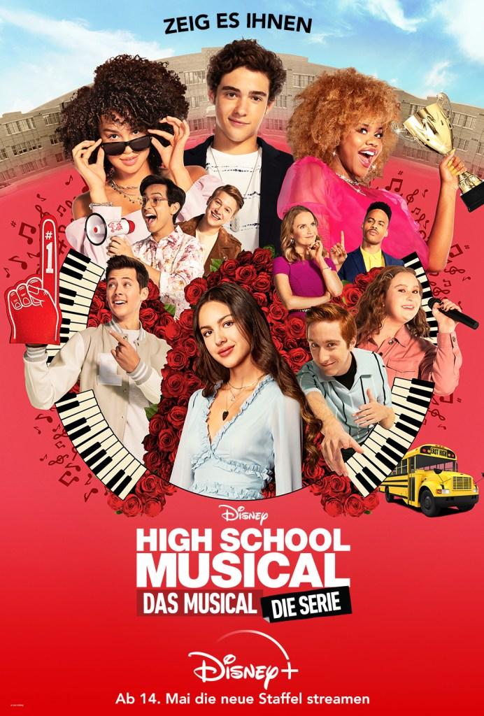 Poster zu High School Musical: Das Musical: Die Serie - Staffel 2