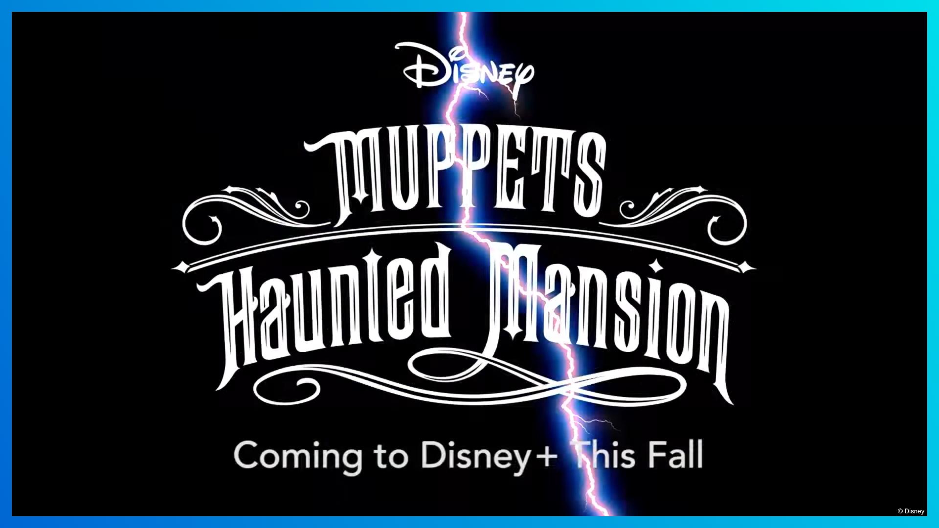 Muppets Haunted Mansion Logo