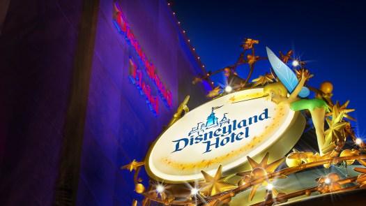 Behind the Attraction Disneyland Hotel 2