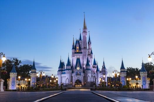 Behind the Attraction The Castles Walt Disney World Magic Kingdom Cinderella Castle 2