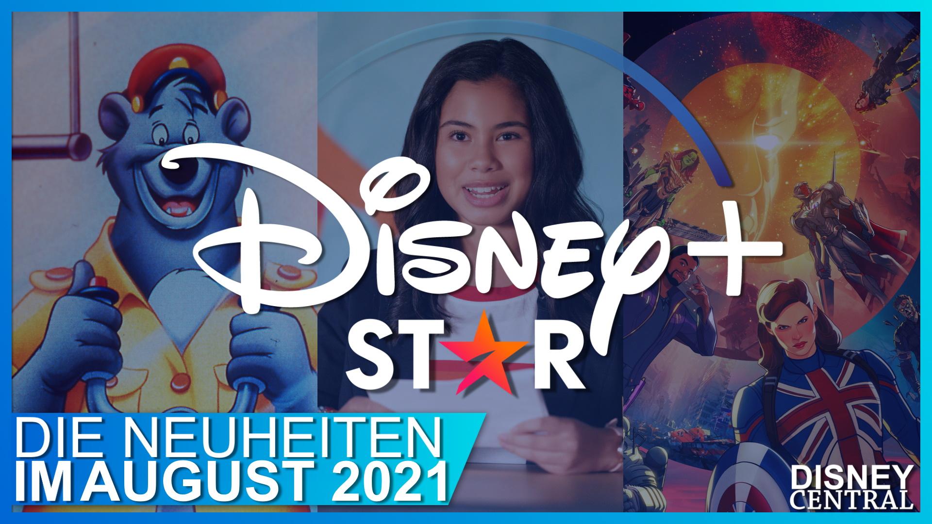 Disney+ im August 2021: Käpt'n Balu, Marvels What If…? und mehr – das sind alle spannenden Neustarts!