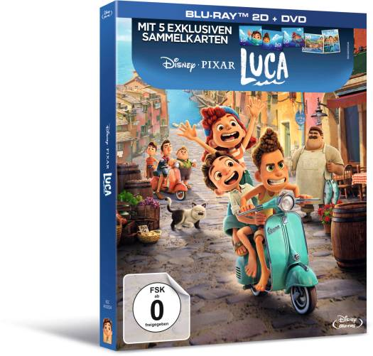 Luca BD DVD Deluxe Set Sticker 3PA lowres