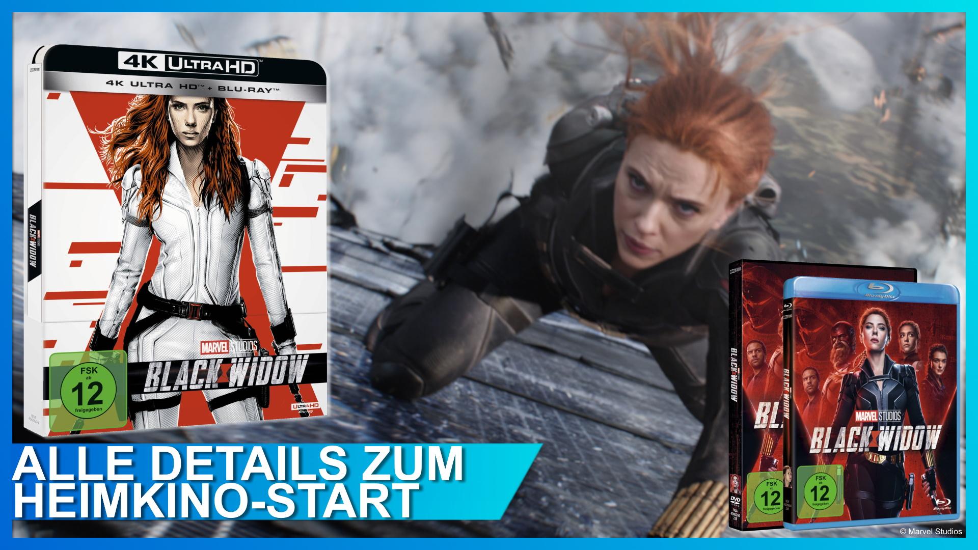 Black Widow Heimkino DVD und Blu-ray