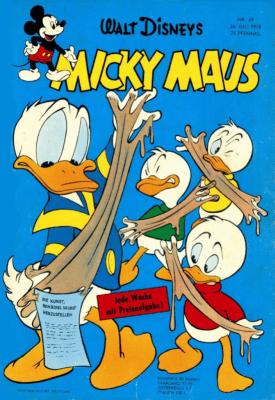 Micky Maus 29 / 1958: Das erste Heft mit Extra