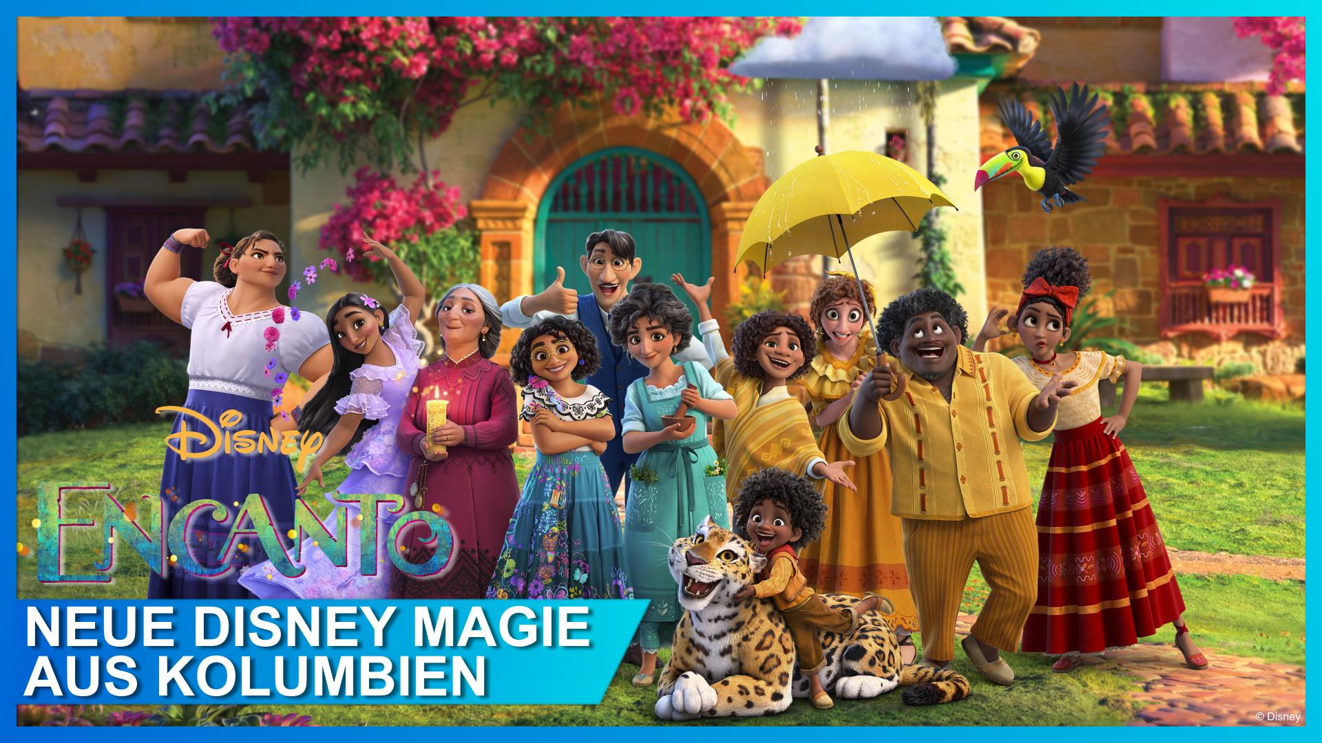 Encanto: Disneys Jubiläumsfilm nährt sich aus dem Zauber Kolumbiens