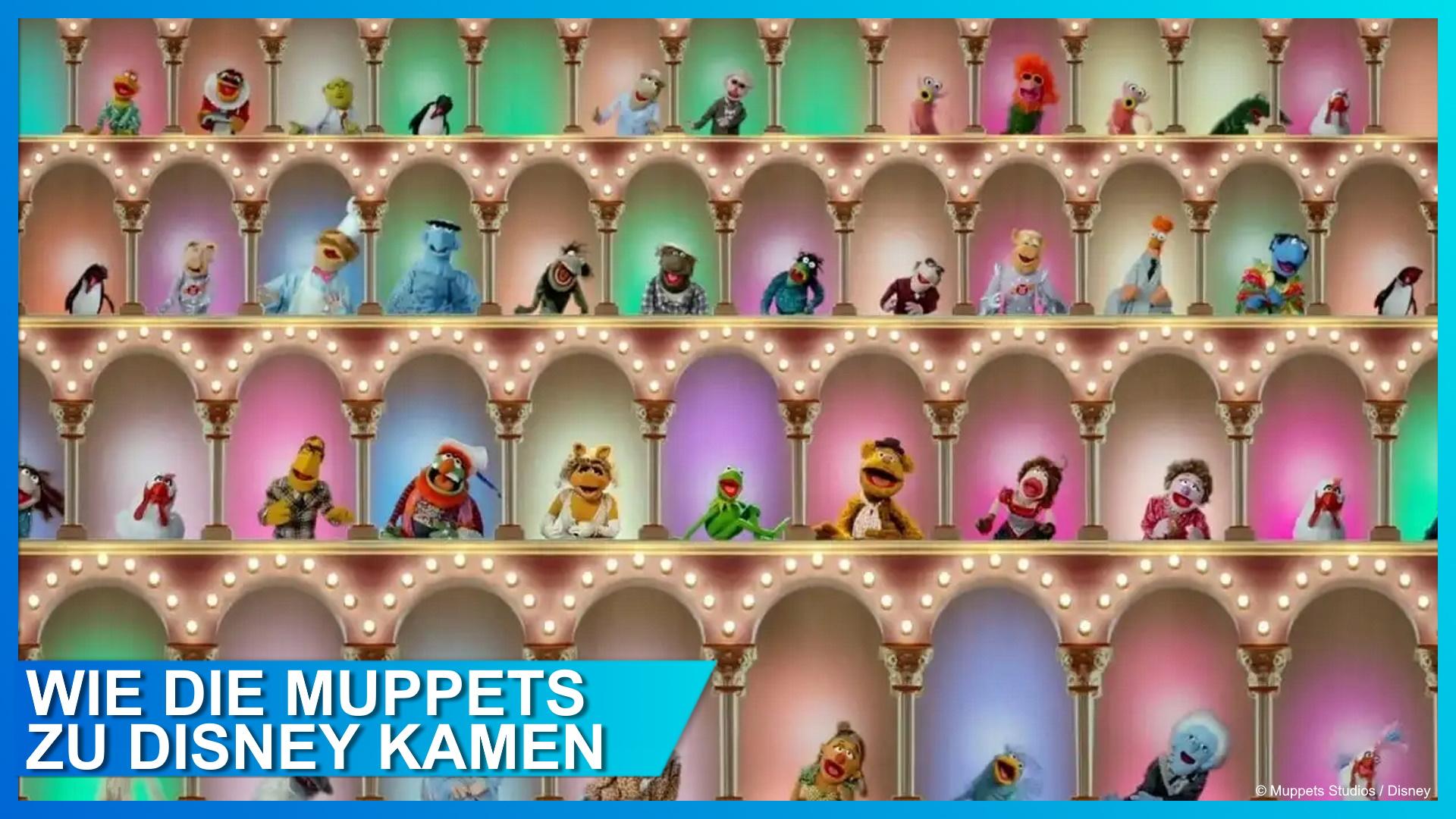 Wie die Muppets zu Disney kamen