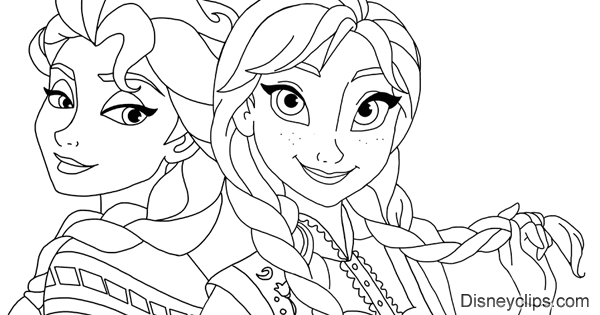 Frozen Coloring Pages 2 Disneys World Of Wonders