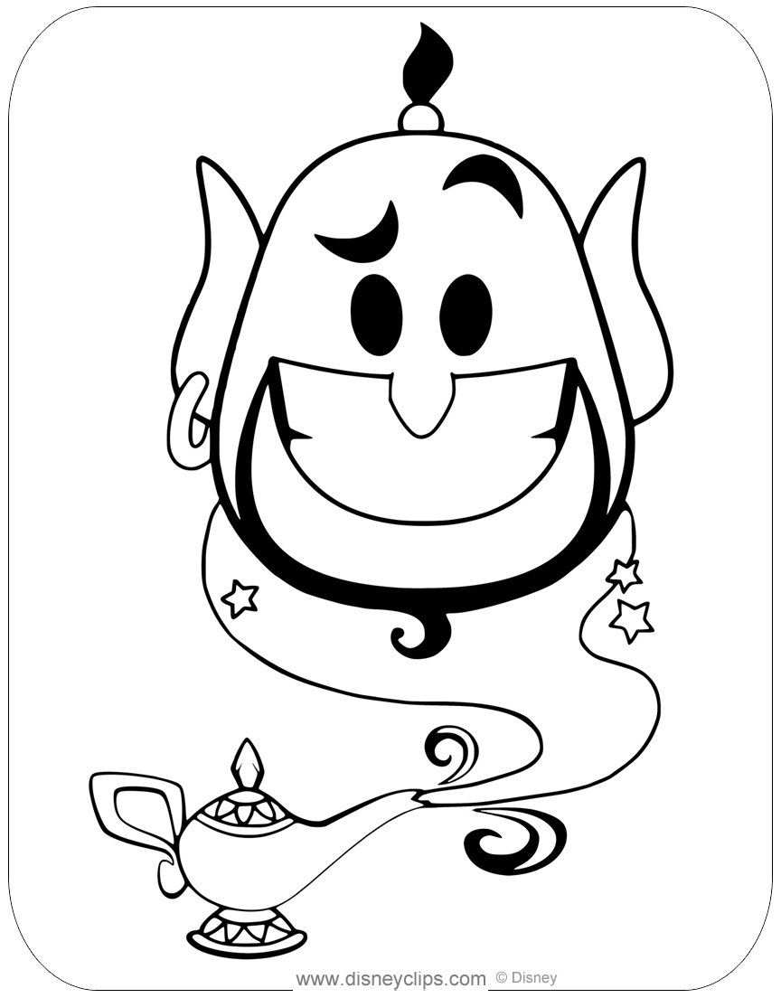 Disney Emojis Coloring Pages Disneyclips Com