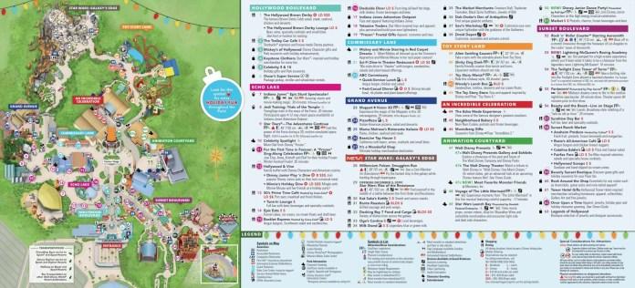 Mapa Parques de Orlando 2020 (pode imprimir!) | Disney de Novo