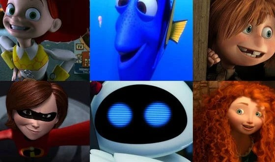 Which Pixar Girl Are You