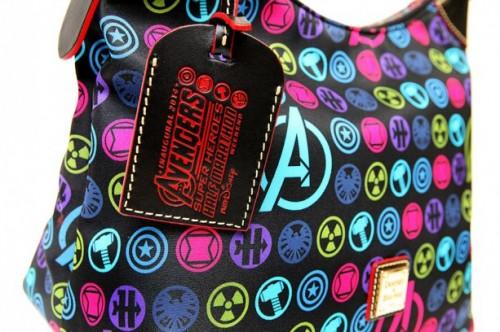 New Avengers  Dooney & Bourke bags. Courtesy of Disney Parks Blog.