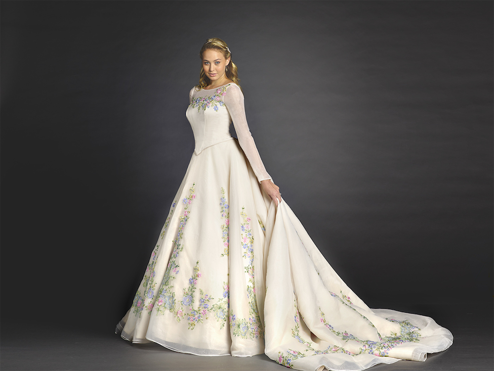 Cinderella Wedding Dress To Match Alfred Angelo\'s at Bibbidi Bobbidi ...