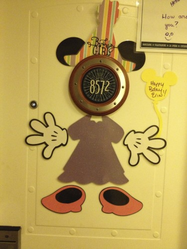 Birthday sign on our door #3