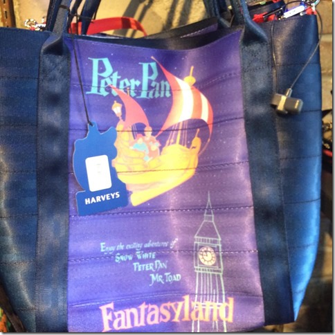 harveys for disneyland peter pan bag