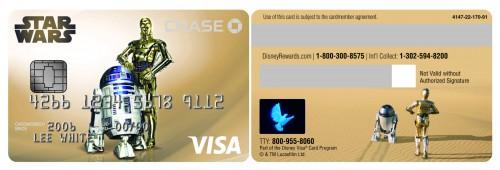 Droids Disney Visa Card