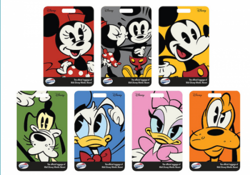 New Disney Luggage Tags