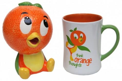 Orange Bird Mug