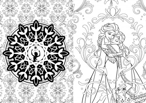 Disney Discovery- Disney Art Therapy Adult Coloring Books