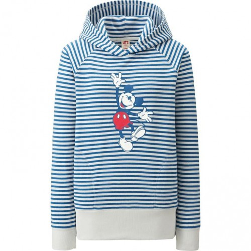 Uniqlo Mickey Mouse Pullover Hoodie