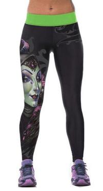 2016-03-26 22_49_22-Ensasa Highwaist Yoga Malefecient Disney Printed Leggings Pants Black at Amazon