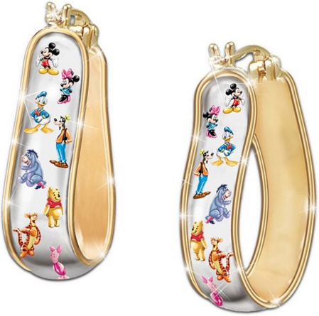 2016-05-04 16_08_39-Amazon.com_ 24k Gold Plated Disney Reversible Pierced Earrings By the Bradford E
