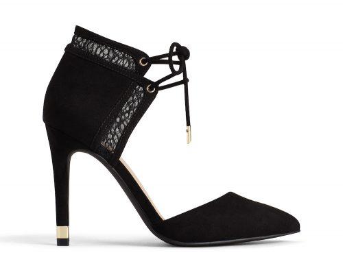 close toe heel black