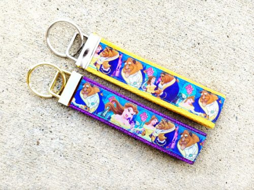 Beauty and the Beast Key chain